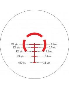 VORTEX OTTICA STRIKE EAGLE 1-6X24 RETICOLO AR-BDC