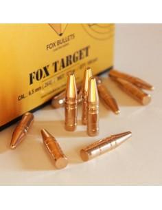 FOX TARGET CAL. 6,5 mm (.264) - 123gr 100pz