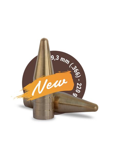 FOX TARGET CAL. 9,3 mm (.366) - 220gr 50pz
