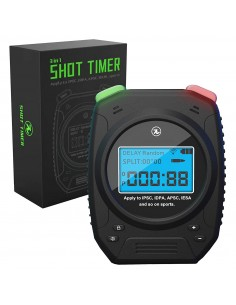 SHOT TIMER 3IN1 WITH BELT CLIP