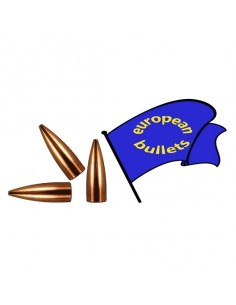 EUROPEAN BULLETS 30 FB 118,5gr P.9 50pz