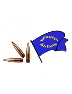 EUROPEAN BULLETS 30 BT 205 gr P. 9 50pz