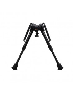 "HARRIS BIPOD SERIES 1A2 SOLID BASE 6"" - 9"" LEG NOTCH"