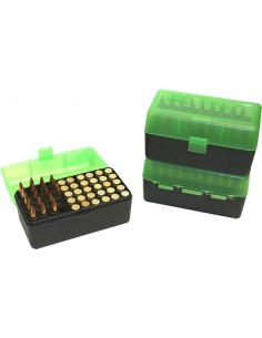 MTM RIFLE FLIP TOP RMLD-50 GREEN/BLACK