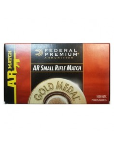 Federal SMALL RIFLE/AR Match 1000 Pz