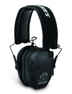 WALKERS GAME EAR SLIM TACTICAL ELECTRONIC MUFF BLACK