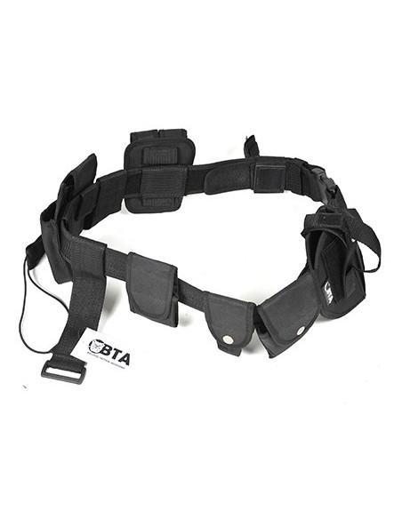 Cinturone Tattico Cordura Porta 8 Accessori