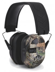 WALKERS ULTIMATE POWER MUFF QUADS CAMO MOSSY OAK