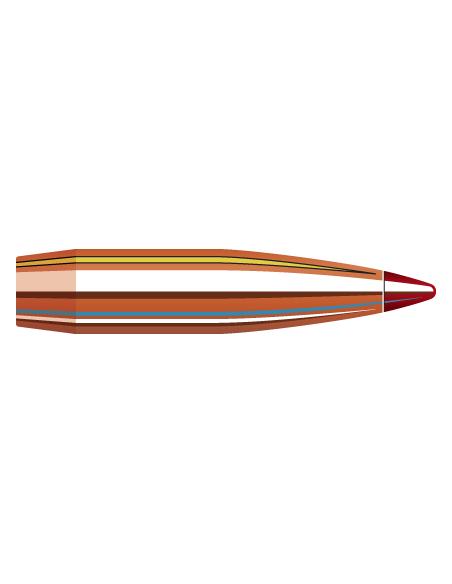 """HORNADY PALLE ELD-X 284"""" 150GR 100PZ"""