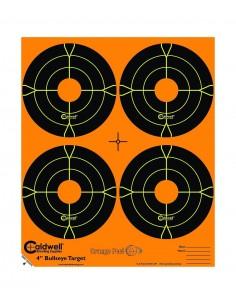 """CALDWELL BERSAGLIO BULLSEYE 4"""" CONF. 10PZ"""