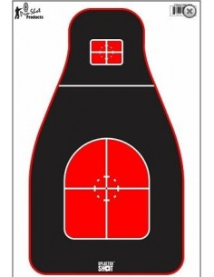 Tactical Precision Target Red+Black HV 8Pz