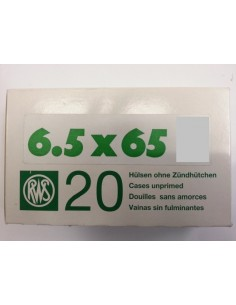 RWS BOSSOLI CAL. 6.5X65 - 20 PEZZI