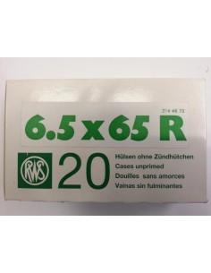 RWS BOSSOLI CAL. 6.5X65R - 20 PEZZI