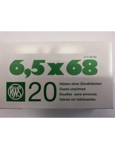 RWS BOSSOLI CAL. 6.5X68 - 20 PEZZI