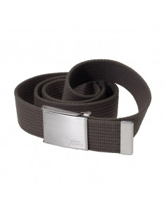 CANVAS BELT DARK OLIVE TG. UNICA