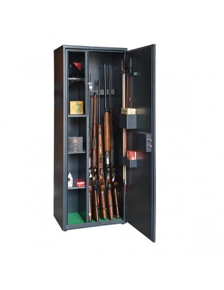 Armadio Blindato con scaffale 4/5 fucili con ottica -GLST470