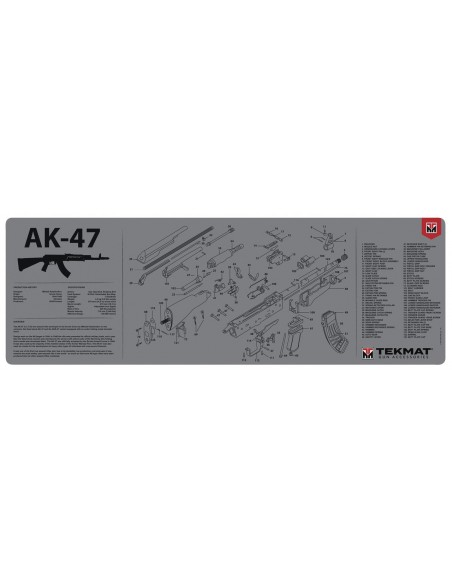 TEKMAT AK-47 Grey Gun Cleaning Mat