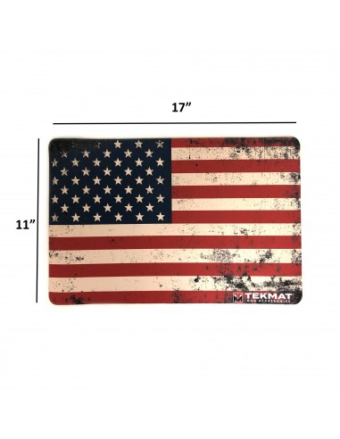 TEKMAT Old Glory Gun Cleaning Mat