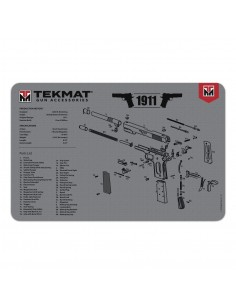 TEKMAT 1911 Grey Gun Cleaning Mat