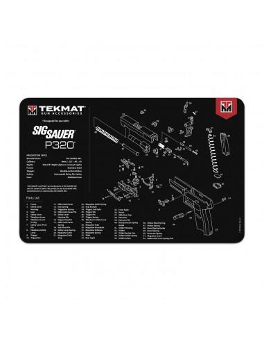TEKMAT Sig Sauer P320 Gun Cleaning Mat