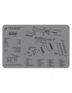 TEKMAT Glock Gen4 Grey Gun Cleaning Mat