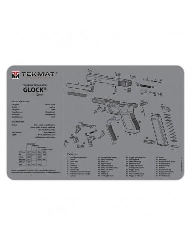 TEKMAT Glock Gen4 Grey Gun Cleaning Mat