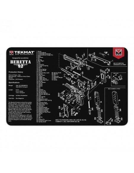 TEKMAT Beretta 92 Gun Cleaning Mat