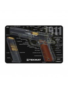 TEKMAT 1911 Cut Away Gun Cleaning Mat