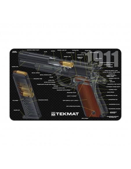 TEKMAT 1911 Cut Away Gun Cleaning Mat