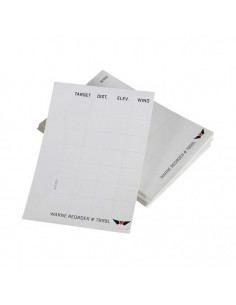 WARNE DATA CARD REFILL LABELS