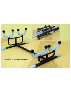 PMA Double Rifle Clean Cradle Benchrest 3""